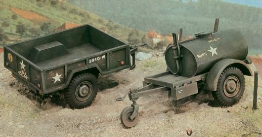 250 GAL. S TANK TRAILER - M101 CARGO TRAILER