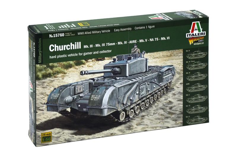 Churchill MK.III/IV/Avre/NA75