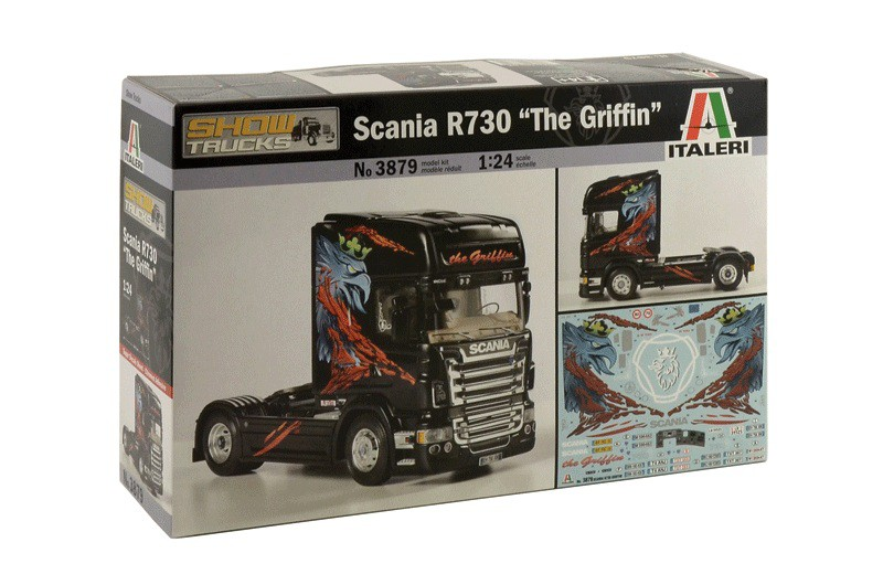 "Scania R730 ""The Griffin"""