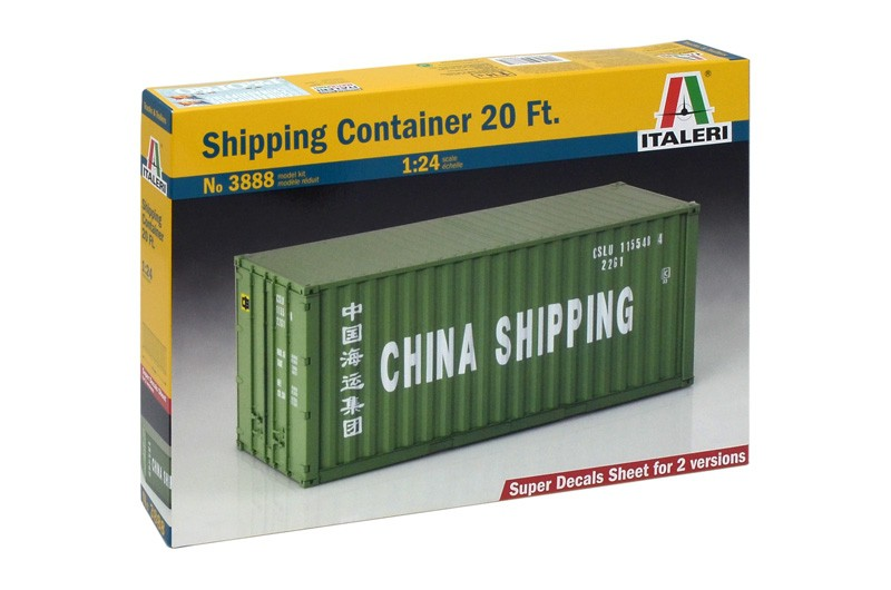 Shipping Container 20 Ft.