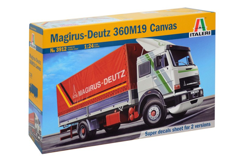 Magirus-Deutz 360M19 Canvas