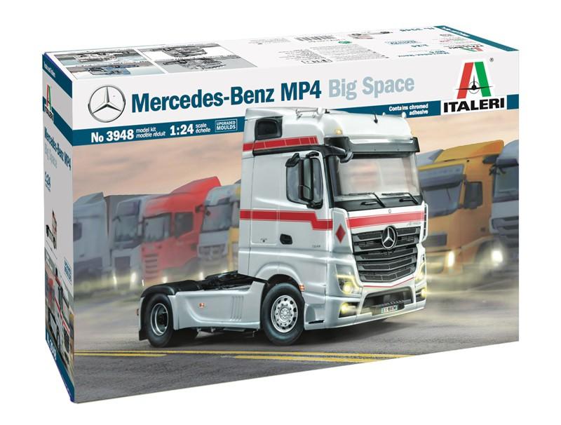 Mercedes-Benz MP4 Big Space