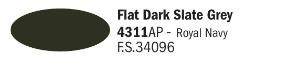4311AP - Mat Donker Leigrijs