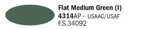 4314AP - Mat Groen (I)