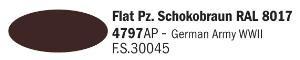4797AP Mat Chocoladebruin RAL 8017