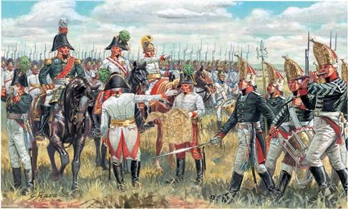 Austrian and Russian Ge. Staff - Napoleon Wars