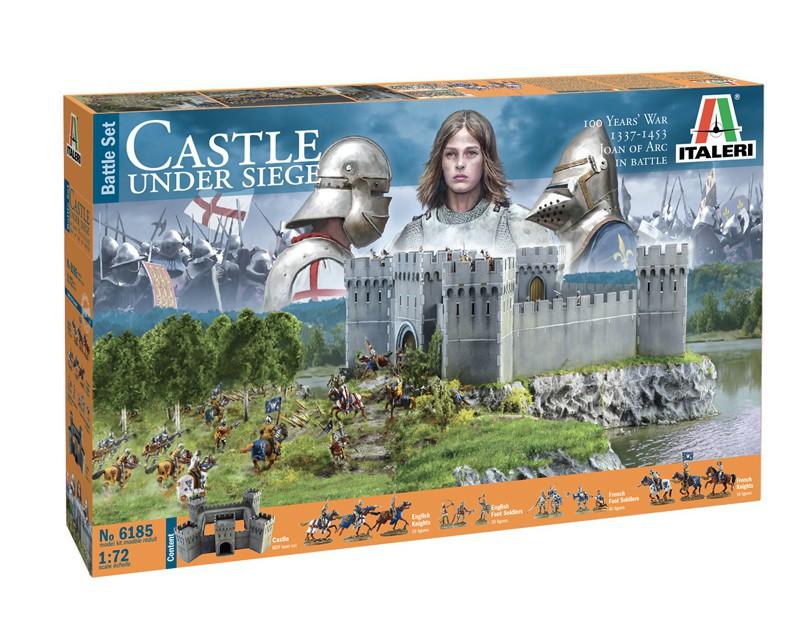 100 Years War Castle under Siege