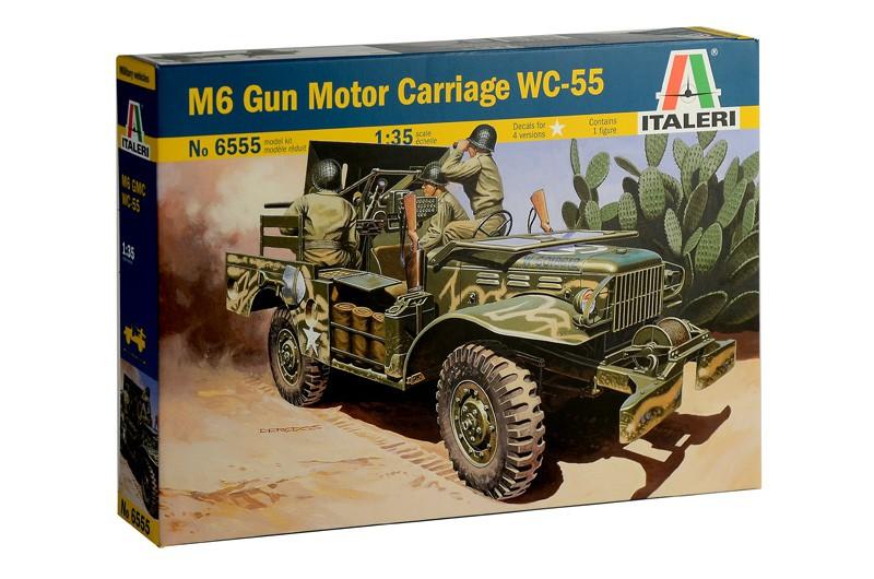 37mm Gun Motor Carriage M6 WC-55