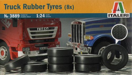 Truck Rubber Tyres (8x)
