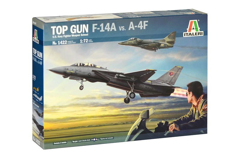 US Navy Fighter Top Gun - F-14A vs A-4F