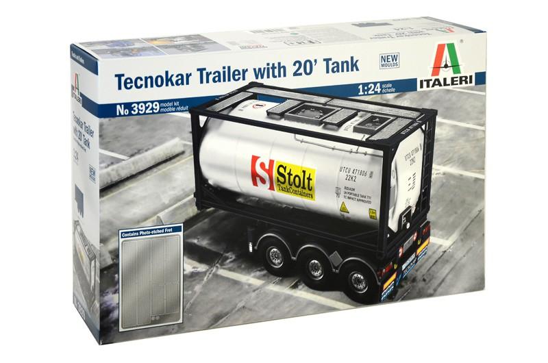 Tecnokar Trailer met 20ft Tank