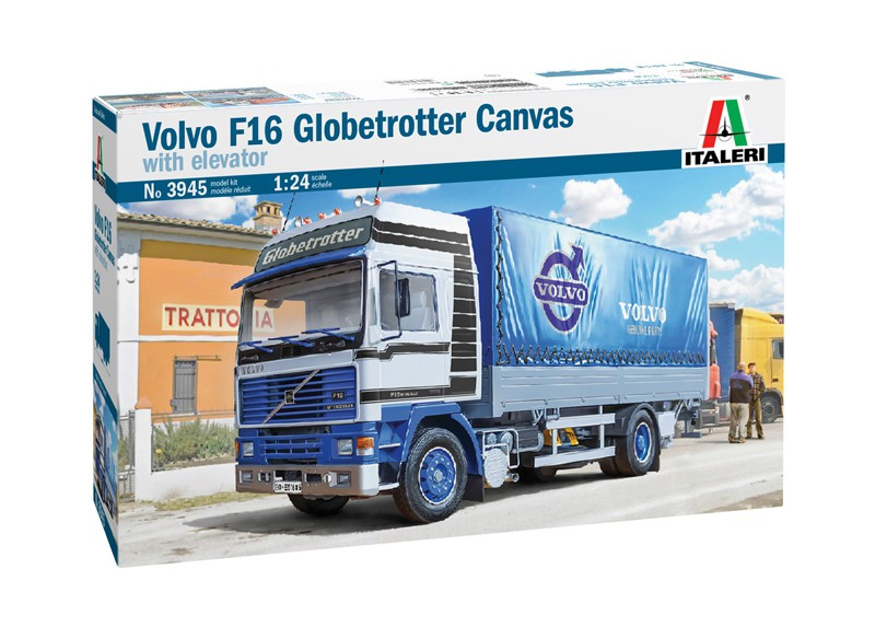 Volvo F16 Globetrotter Canvas with Elevator