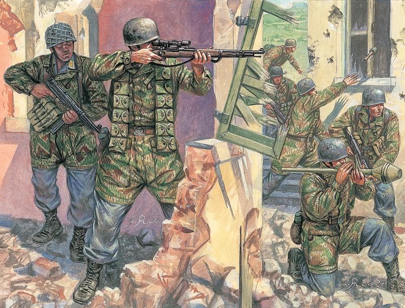 German Paratroopers - WWII