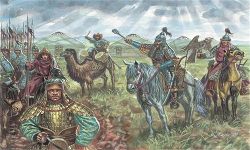 Mongol Cavalry - XIIIth Century