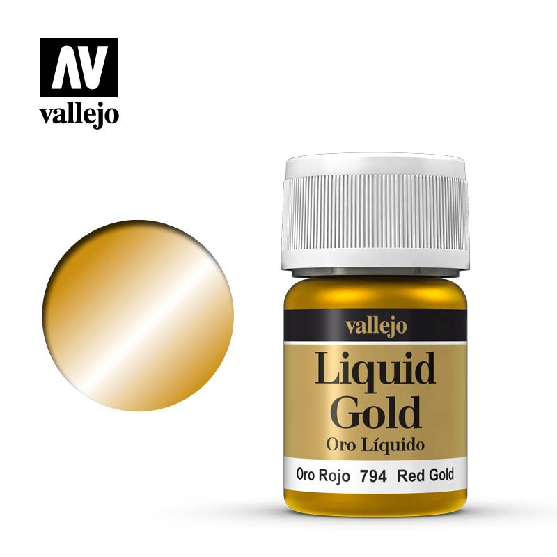 Red Gold (Liquid Gold) 215