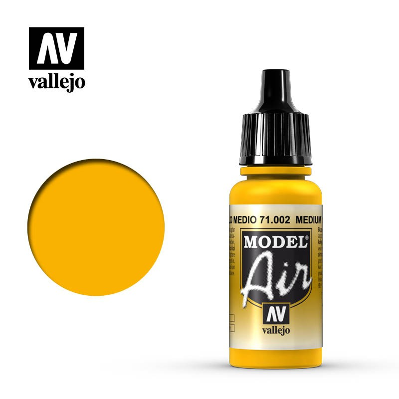 Medium Yellow 17ml
