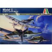 MISTEL 1 JU 88 A-4 met BF 109F