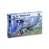 S.E. 5a and Albatros D.III