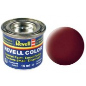 dakpan-rood, mat kleurnummer 37
