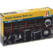 Trailer Rubber Tyres (8x)