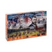 American Civil War Farmhouse Battle Set 1864