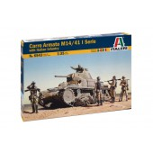 Carro Armato M14/41 I Serie with Italian Infantry