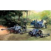 German Guns Set: PAK35 - PAK40 - FLAK38