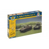 Pz.Kpfw. V Panther (2 Fast Assembly Models)