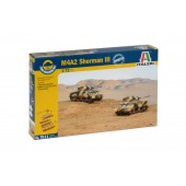 M4A2 Sherman III (2 Fast Assembly Models)