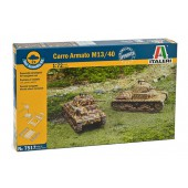 Carro Armato M13/40 (2 Fast Assembly Models)