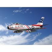 F-86F Sabre Skyblazers