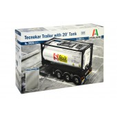 Tecnokar Trailer met 20ft Tank