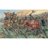 English Knights and Archers