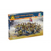 British Infantry/Sepoys - Colonial Wars