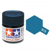 X-13 Metallic Blauw, glanzend 23ml