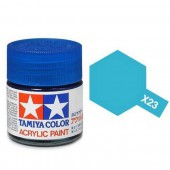 X-23 Transparant Blauw, glanzend 23ml